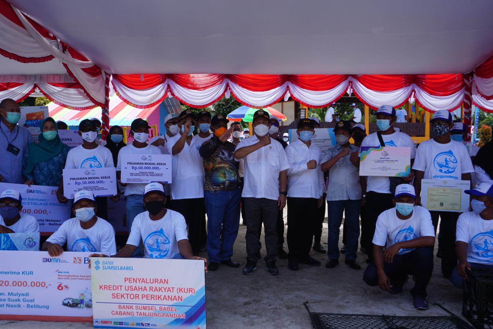 Nelayan Suak Gual Gunakan Pinjaman Beli Kapal Baru | BLU ...